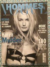 VOGUE HOMMES 185 Dec 1995 Karen Mulder Ricardo Bofill Alfredo Arias Mode