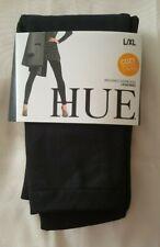 Hue Women's Brushed Fleece Seamless Leggings Black L/XL (14-18)