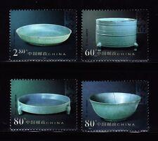 SELLOS CHINA 2002 CERAMICA 4v.