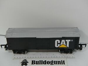 CAT Construction Express Train Boxcar Train Car Part Only Toy State Black 2010