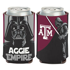 Texas A&M University Darth Vader Can Cooler 12 oz. Star Wars Aggie Empire Koozie