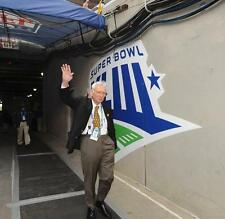 DAN ROONEY PITTSBURGH STEELERS OWNER TUNNEL AT SUPER BOWL XLIII 1-1-2009 8X10