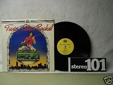 Twin Cities Rocks LP 101 KDWB Rock Punk Psych MN Orig! With Cool Bumper Sticker!