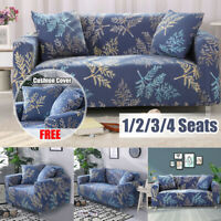 1/2/3/4 Seater Sofa Covers Slipcover Elastic Stretch Settee Protector Couch  *