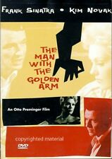The Man with the Golden Arm (DVD, 2002) New, Darren McGavin, Arnold Stang