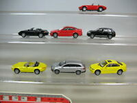 S860-0,5# 7x Joycity/Welly PKW: BMW Z8 + M3, Porsche Cayenne + Boxster etc
