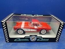 """1961 Red Chevy Corvette """"Corvette Central"""" 1/18"""" Special Edition by ERTL 239"""