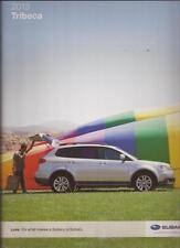 2013 13  Subaru Impreza  Tribeca original sales brochure MINT