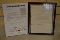 Herbert Hoover Autographed Signed Letter PSA/DNA Certified 1934  *LOOK*