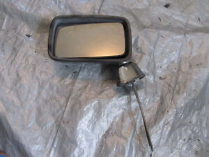 81 - 91 ROLLS ROYCE SILVER SPUR FRONT LEFT CHROME MIRROR DRIVER SIDE