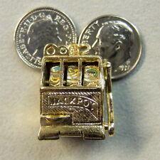 9 ct GOLD Second hand slot machine charm