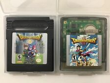 Dragon Warrior 1 2 + 3 Lot Nintendo Gameboy Color GBC Clean Tested Authentic