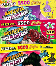 Moviestar Planet 3digital game codes: 2dreses +1VIP7 days  Moviestarplanet