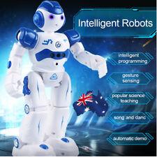 AU RC Remote Control Robot Gesture Sensor Singing Dancing Kids Toy Boy Girl Gift