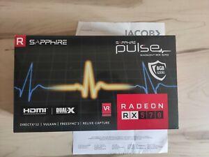 Sapphire Pulse Radeon RX 570 8GB - Grafikkarte - NEU mit Rechnung