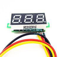 """10PCS 0.28"""" LED DC  0-100V Digital Voltmeter Panel Meter Green COLOR"""