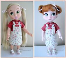 Handmade 5-Pc Jumper Overalls Shirt Clothes Outfit Disney Animator & Boo Doll