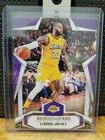 2019-20 Panini Chronicles Lebron James Rookies and Stars #689 Los Angeles Lakers
