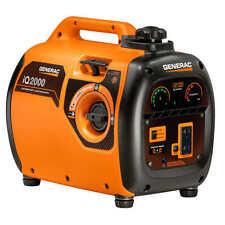 Generac 1600W Running / 2000W Peak Gasoline Generator Powered Inverter iQ2000