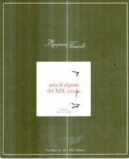 S12 Manzoni Arte Asta di dipinti del XIX secolo Asta 8 24-3-1982