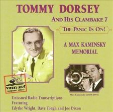 Tommy Dorsey and His Orchestra The Panic Is On A Max Kaminsky Memorial CD