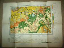 Vintage Geological Survey Map of Witney, Chipping Norton (1957) Ordnance, Oxford