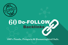 60 fare seguire SEO Backlinks SKY Rocket la tua classifica Google