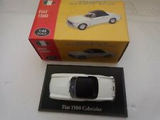 CORGI ATLAS EDITIONS 1/43 FIAT 1500 DIECAST CLASSIC SPORTS CAR