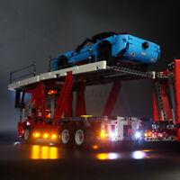 ONLY LED Light Lighting Kit For LEGO 42098 Technic Car Transporter Bricks Toy ^