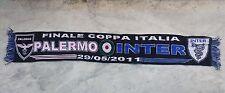 SCIARPA FINALE PALERMO INTER 2010-11 COPPA ITALIA TIM CUP SCARF FINAL no maglia