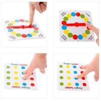 Fun Family Finger Twister Board Mini Version Table Party Game for 2 players New