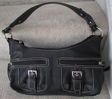 A.N.A. A New Approach Black Purse
