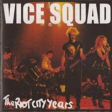 Vice Squad – The Riot City Years (CD) NEW/SEALED