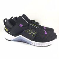 Nike Free X Metcon 2 Black Purple Green Training Shoes AQ8306-035 Mens Size 10