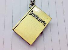VINTAGE Oro Death Note Orologio da Taschino Antico Collana Catena + batterie aggiuntive