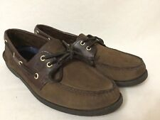 Sperry Top Sider Boat Shoes 2-Eye Brown men's size 11