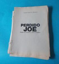 ALBIAC/CASALLA: PERDIDO JOE (ed. Eura 1986 - volume a inserti da rilegare)
