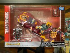 Takara Tomy Transformers Legends LG 45 Hot Rod Headmasters Targetmaster
