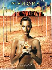 PUBLICITE ADVERTISING 046  2000   Guerlain  parfum Mahora