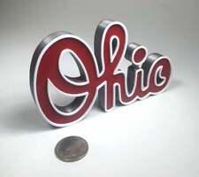 Script Ohio - 3D printed Ohio State Buckeyes Scarlet Gray Football OSU
