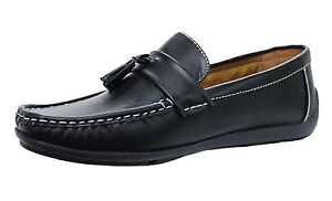 Chaussures Mocassins Homme Diamond Class Élégant Casual Noir Faux MAN'S