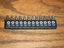 Craftsman 12 Tip Torx T20 To T40 Sizes Screwdriver Set