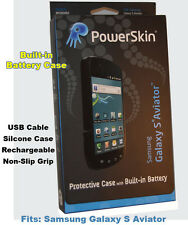 PowerSkin Case w/Built in Rechargable Battery-Samsung Galaxy S Aviator AP1201R93