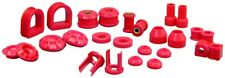 1985-98 VW Golf II Jetta II Complete Suspension Bushing Kit Red Prothane 22-2009