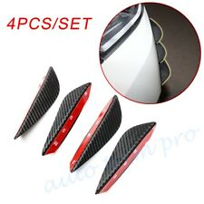 Car Body Accessories Bumper Grille Splitter Fin Air Knife Spoiler carbon Fibre