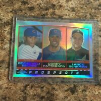 2000 Topps Chrome Refractor Astros Cubs Corey Patterson Lance Berkman R. Brown