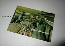 ROLEX VINTAGE MILGAUSS 1019 BOOKLET MANUAL *1972 ITALIAN* IDEAL FOR CERN MODEL!