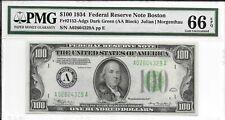 1934 $100  Fr 2152-Adgs PMG 66 EPQ None Graded Higher in PMG Registry
