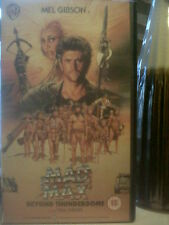 Mad Max Beyond the Thunderdome (1985) Mel Gibson & Tina Turner sci-fi on VHS!