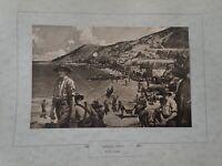 WW1Anzac Cove By F.R. Crozier Paint Print (N 10)